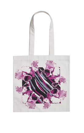 Rodebjer Orchid Tote Bag