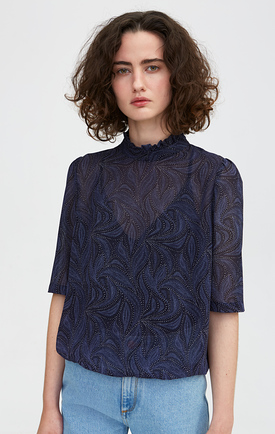Rodebjer Blouse Marble Waves