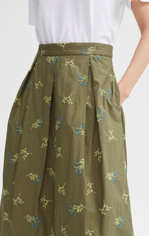 Rodebjer Rodebjer Skirt Cada Embroidery