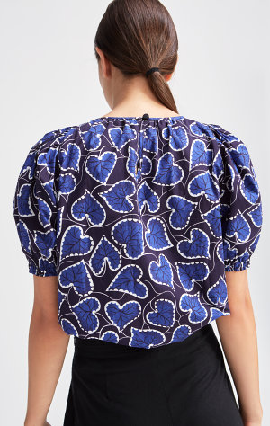 Rodebjer Rodebjer Blouse Nahua Leaves
