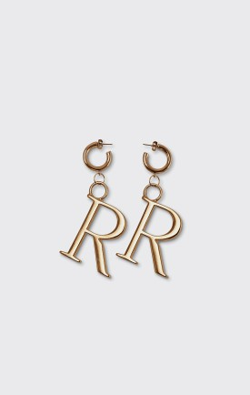Rodebjer Rodebjer Logo Earrings