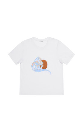 Rodebjer Rodebjer Waves Tee