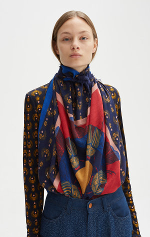 Rodebjer Rodebjer Flying Scarab Scarf